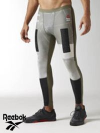 Men's Reebok 'CrossFit Comp' Tights (BK1120) x7 (Option 1): £7.95